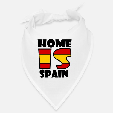 Barcelone Home Is Spain - Bandana