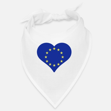 Eu European Heart - Bandana