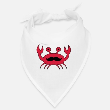 Beard Crab with mustache - Bandana