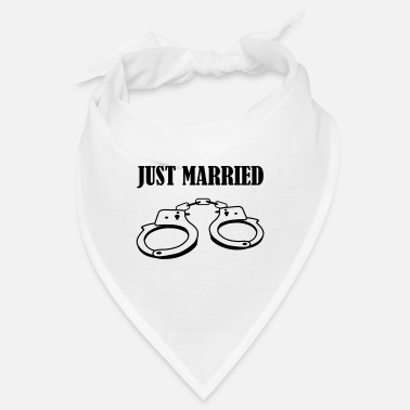 Just Married handschelle just married - Bandana
