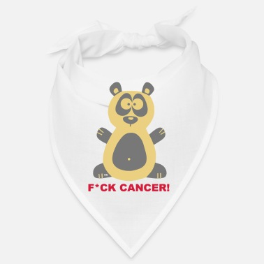 Fuck Cancer Panda-lahjat Fuck Cancer Breast Cancer Chemo Cancer - Bandana