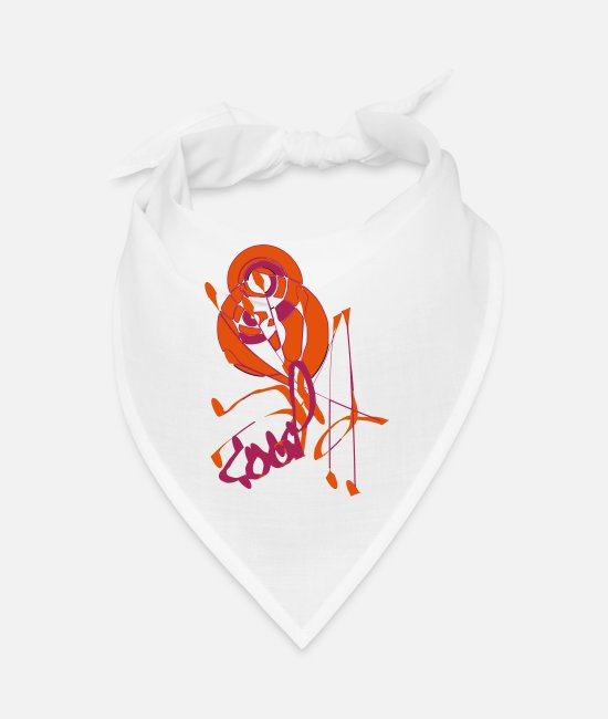 Drawing Bandanas - cool - Bandana white