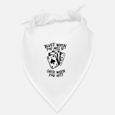 Bluff Poker - Bluff, Check, Bet - Bandana