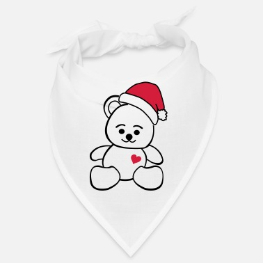Toy Christmas Teddy - Bandana