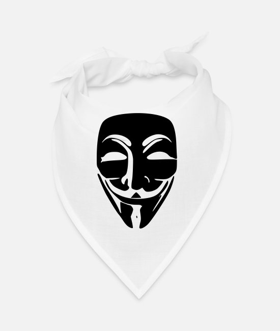 Acta Bandanas - Anonymous - Bandana white