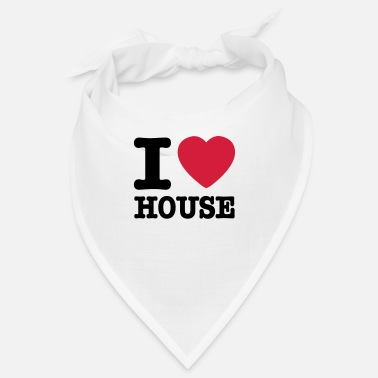 House I love house / I heart house - Bandana