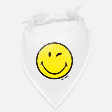 Officialbrands SmileyWorld Classic Winking Smiley - Bandana