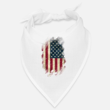 Usa USA Flagge Used Look - Bandana