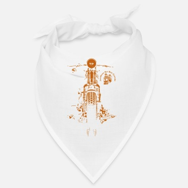 Garage Chopper Bobber Moto Springer Biker Rocker - Bandana