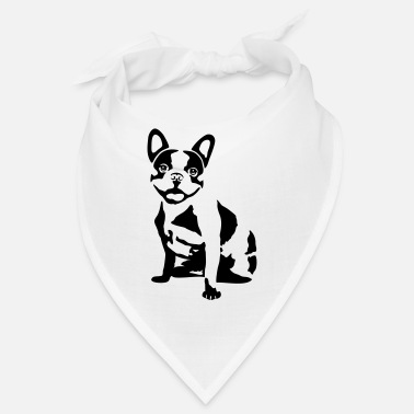 Bulldog French Dog - French Bulldog - Bandana
