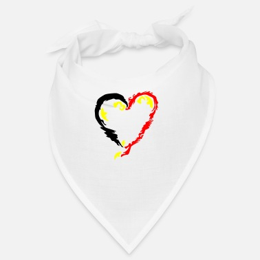Cupido Heart Painted - Bandana