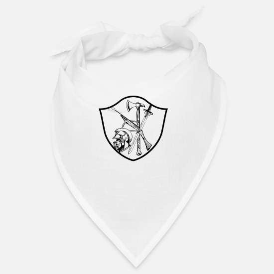 Symbol  Bandanas - coat of arms - Bandana white