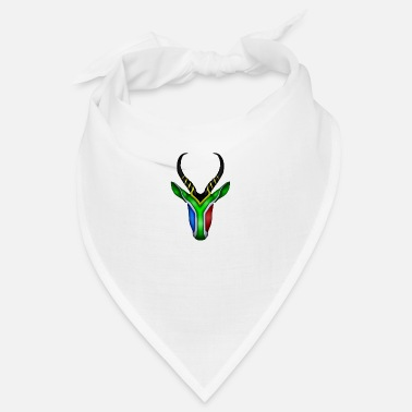 Africa South Africa - Springbok Flag - Bandana