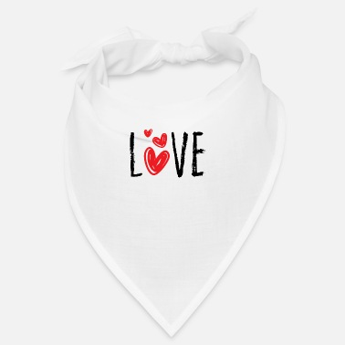 Affection Love Affection Word Heart Cool Gift - Bandana