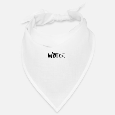 Writing Write - Bandana
