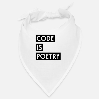 Poetry Code is Poetry - Bandana