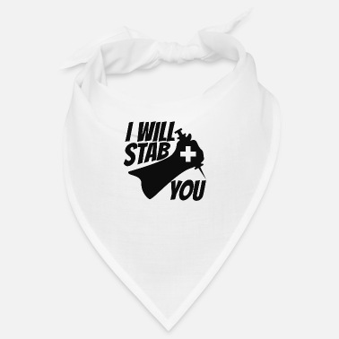 Stäbe I Will Stab You - Design - Bandana