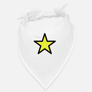 star outline 2c - Bandana
