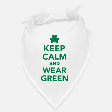 Wear Keep calm wear green - Bandana