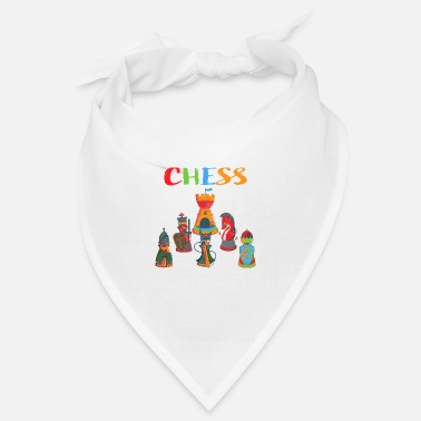 Chess Chess Chess chess pieces - Bandana