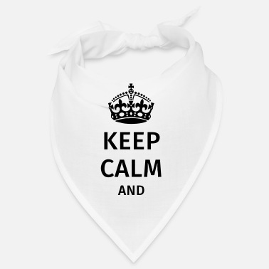 Calm Keep Calm - Bandana