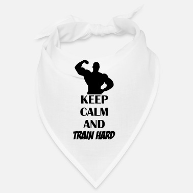 Pain keep_calm_train_hard_001 - Bandana