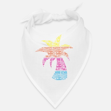 Palm tree - Bandana