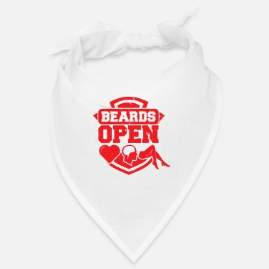 Open Beards Open - Snusnäsduk