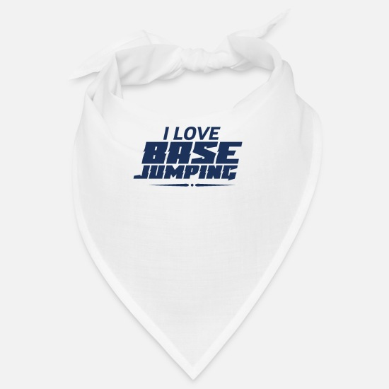 Base Jump Bandanas - Base Jumper Base Jumper Base Jumper Base Jumper - Bandana blanc