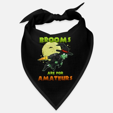 Witch Witch on witches broom - Bandana