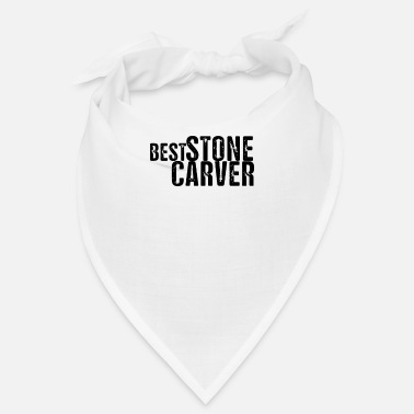 Stone Stone sculptor stonecutter carving stone stone stone - Bandana