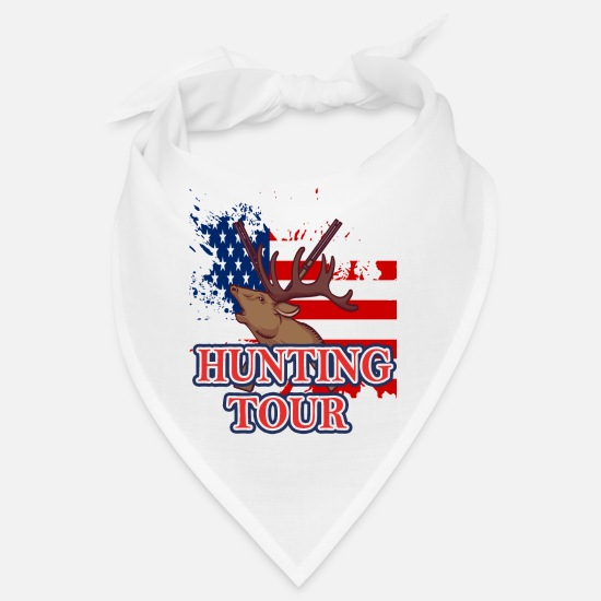 Love Bandanas - Hunting Tour - Bandana white