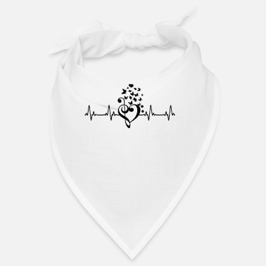 Mp3 Music Heartbeat - Bandana