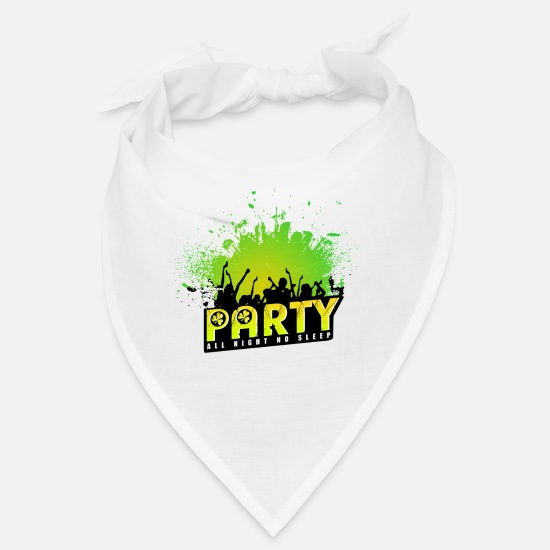 Alcohol Bandanas - Drink Drunk Sober Tequila Alk Celebrate Party - Bandana white