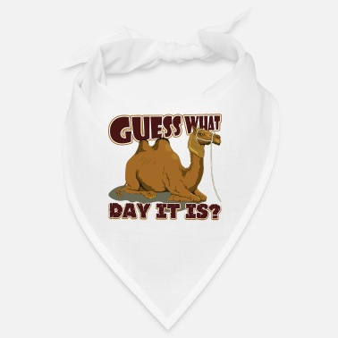 Humpen Ratet mal, welcher Tag es ist, Camel Hump Day - Bandana