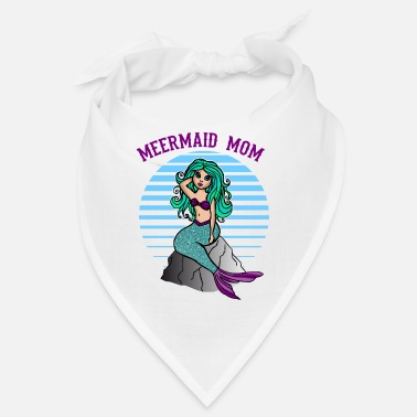 Ladies Mermaid Motif Mermaid Mom For Ladies Mother - Bandana