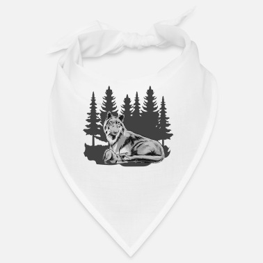 Wolfskind Wolfskind Wolf Wolf pack Wolf mother forest shirt - Bandana