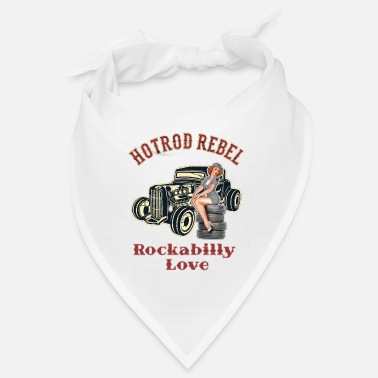 Rockabilly Hot Rod Rebel Rockabilly Love - Bandana