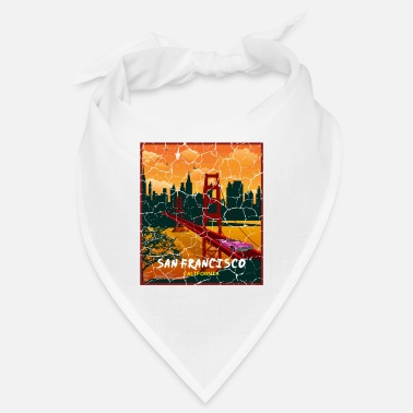 Regalo turístico de California Auto Bridge - Bandana