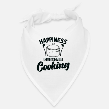 Oven Happiness is A Day Spent Cooking Cooking - Bandana