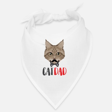 Dads Cat Dad / Cats Dad Dad - Bandana
