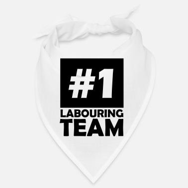Labour number one labouring team - Bandana