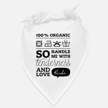 Tlc Typographic Laundry Tag TLC - Bandana