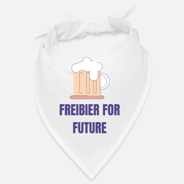 Anti Freibier for future Lustiges Desing - Bandana