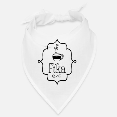 fika swedish coffee sweden gifts - Bandana
