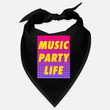 Party MUSIC PARTY LIFE - Bandana