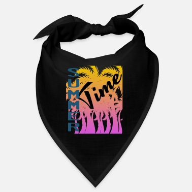 Day Of The Week It's A Time Tee Saying Summer Time Tshirt Design - Bandana