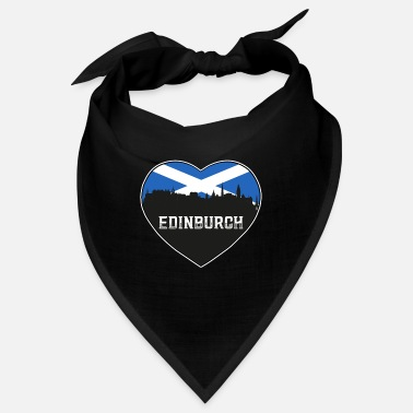 Cute Country T Edinburgh Schottland Skyline Souvenir schottische Flagge - Bandana