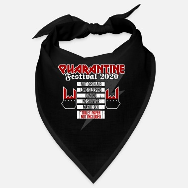 Heavy Quarantine Festival 2020 - Metal Version - Bandana