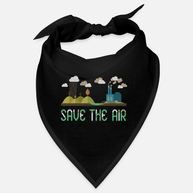 Air Air - Save the air - Bandana